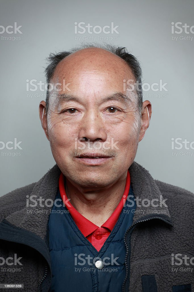 My uncle royalty-free stock photo