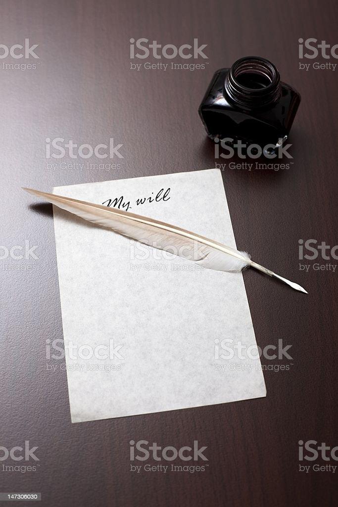 My will royalty-free stock photo