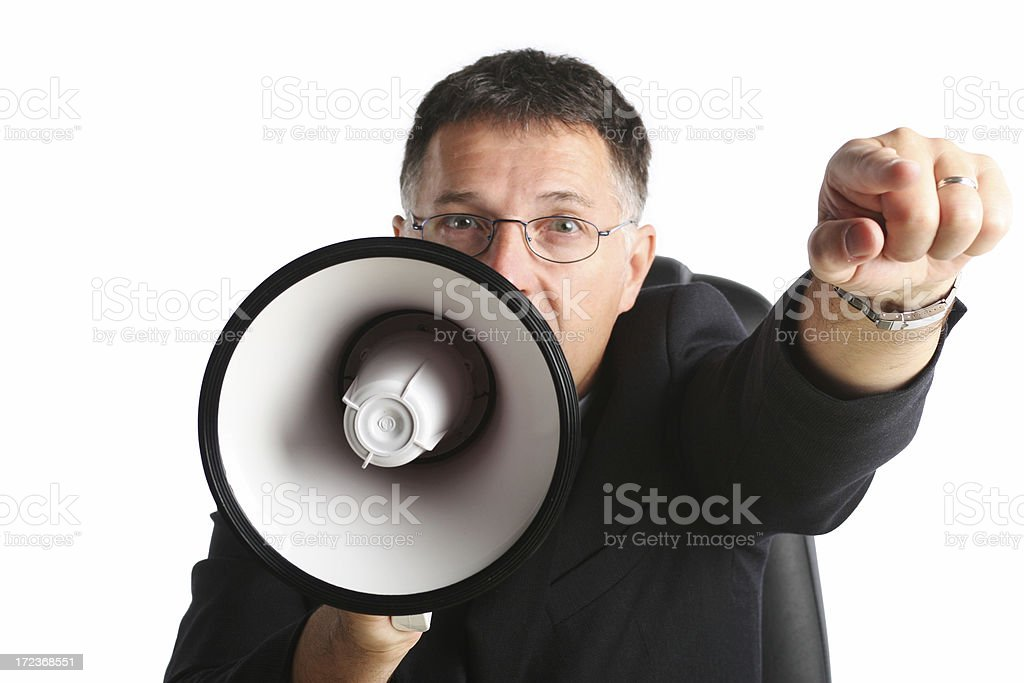 My wish is your command! stock photo