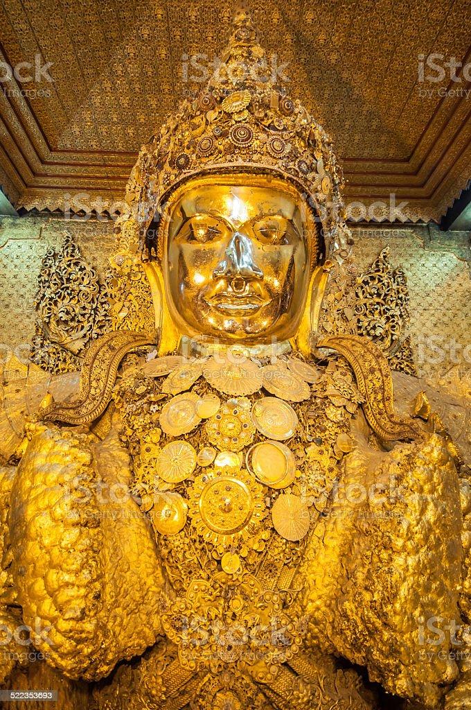 Myanmar buddha image stock photo