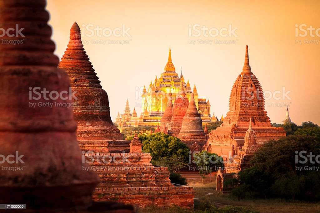 Myanmar Image stock photo