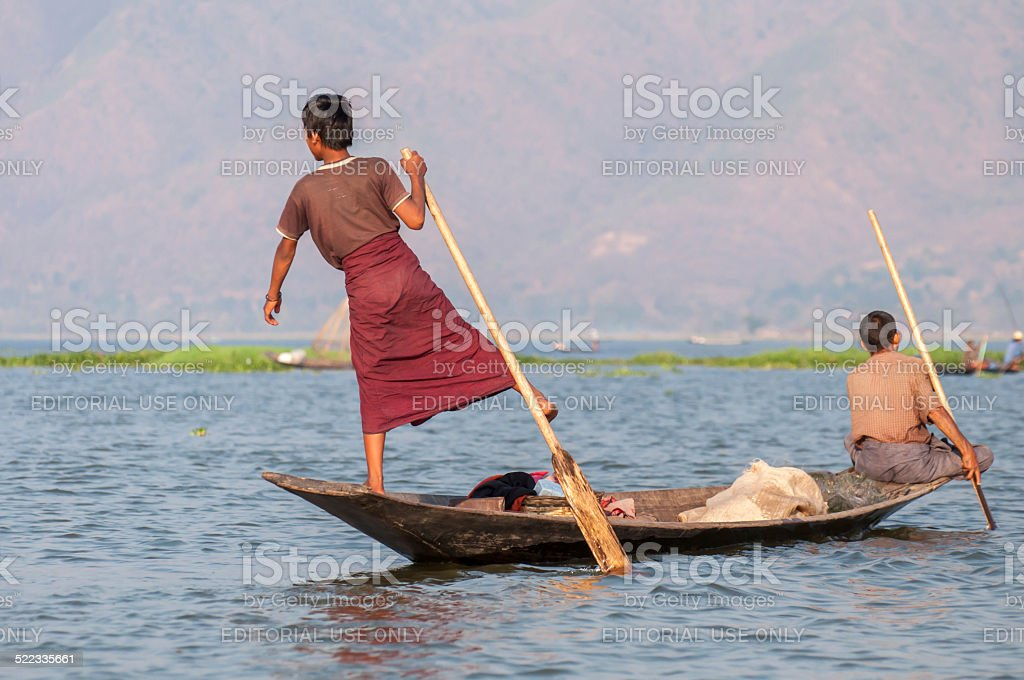 myanmar life stock photo
