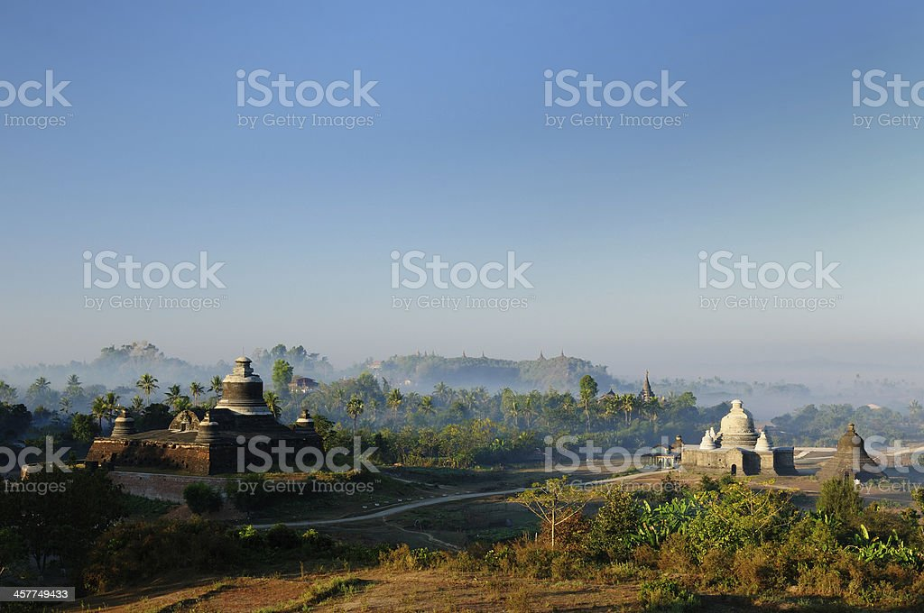 Myanmar, Mrauk U - Dukkanthein Paya royalty-free stock photo