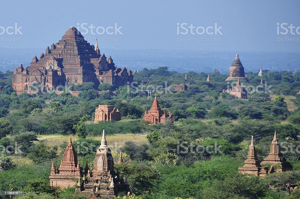 Myanmar Zwiedzanie: Świątyń Pagan zbiór zdjęć royalty-free