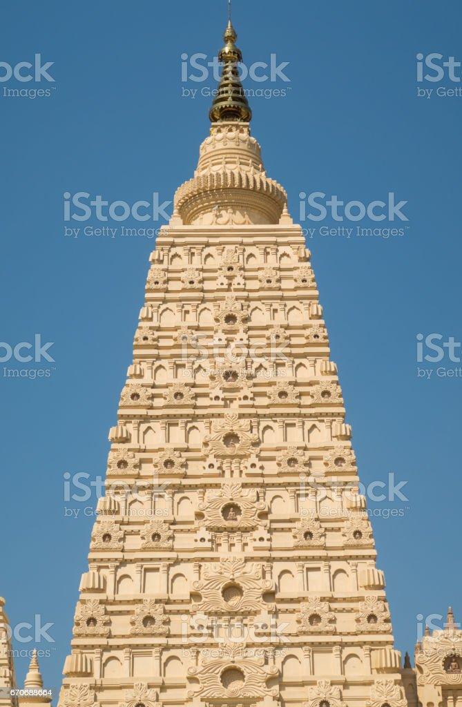 Myanmar temple stock photo