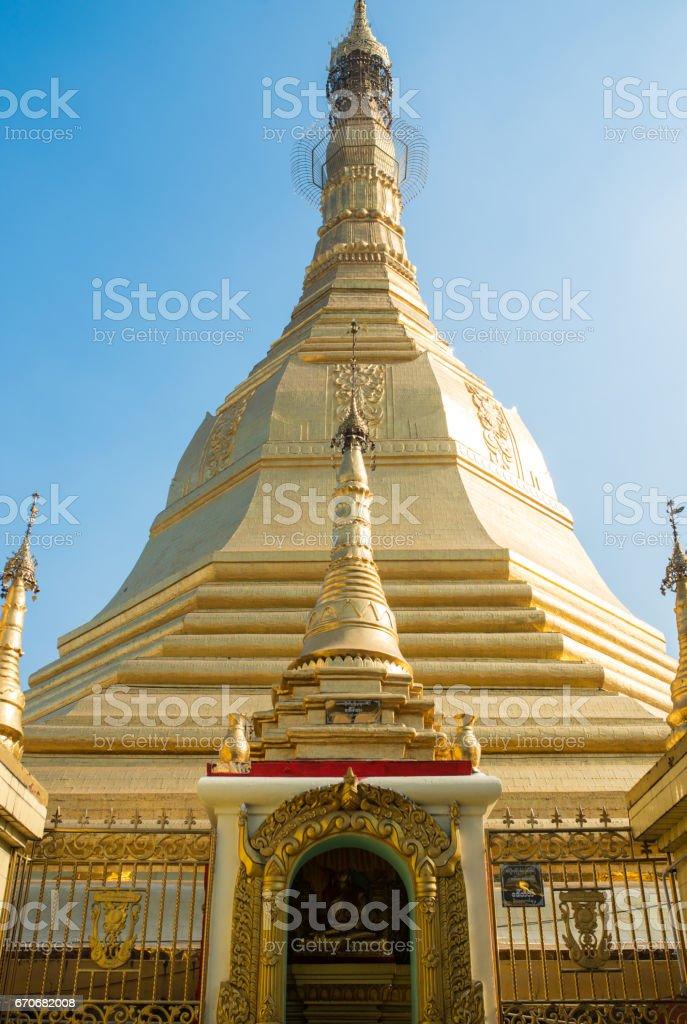 Myanmar temples stock photo