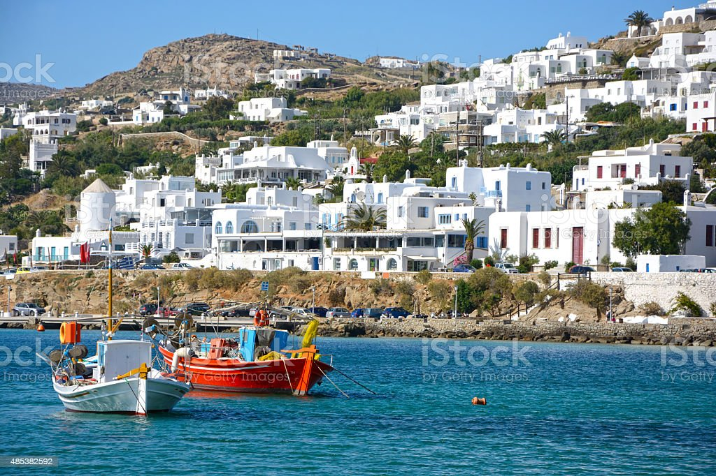Mykonos stock photo