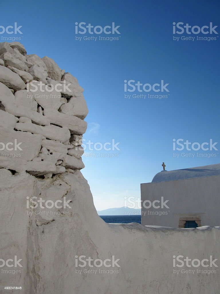 Mykonos Views stock photo