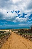 Myponga Beach Road Rural countryside landscape South Australia