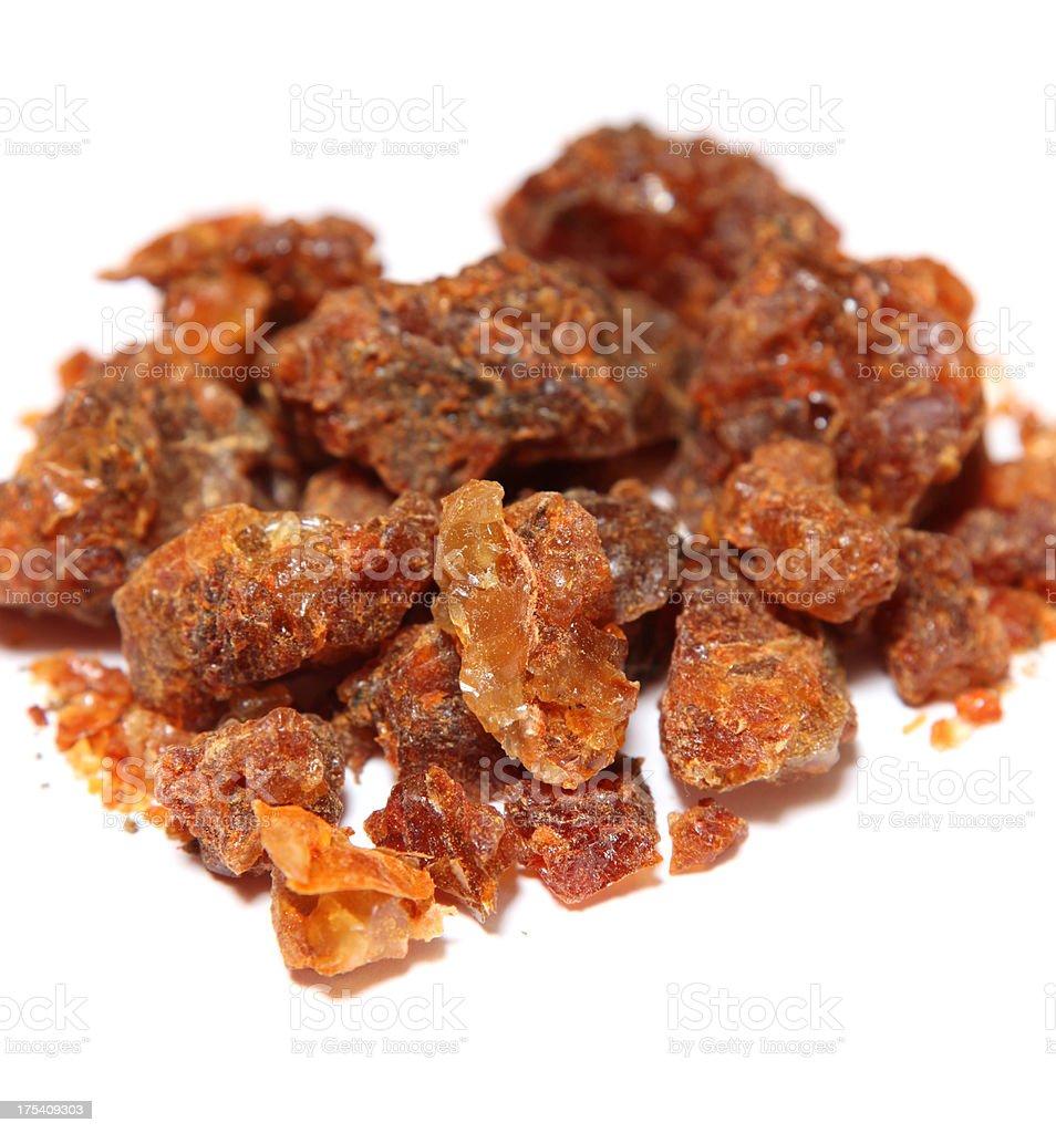 Myrrh Resin stock photo