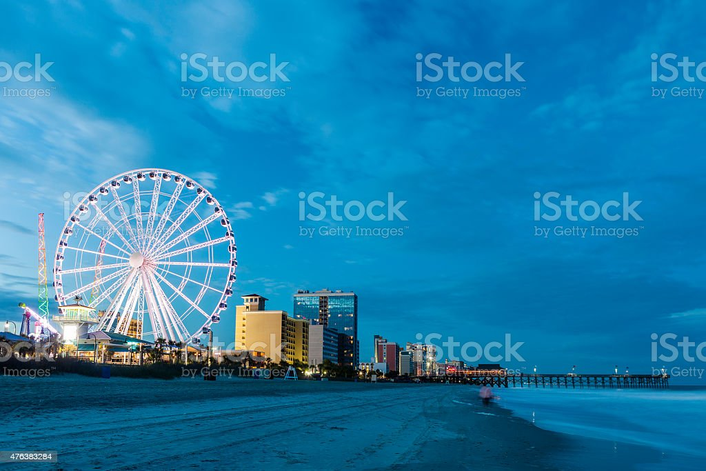 Myrtle Beach In South Carolina, USA stock photo