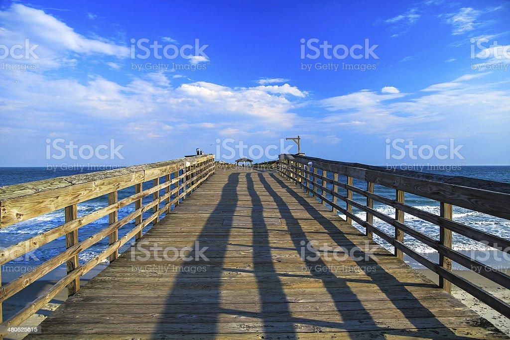 Myrtle Beach Pier stock photo