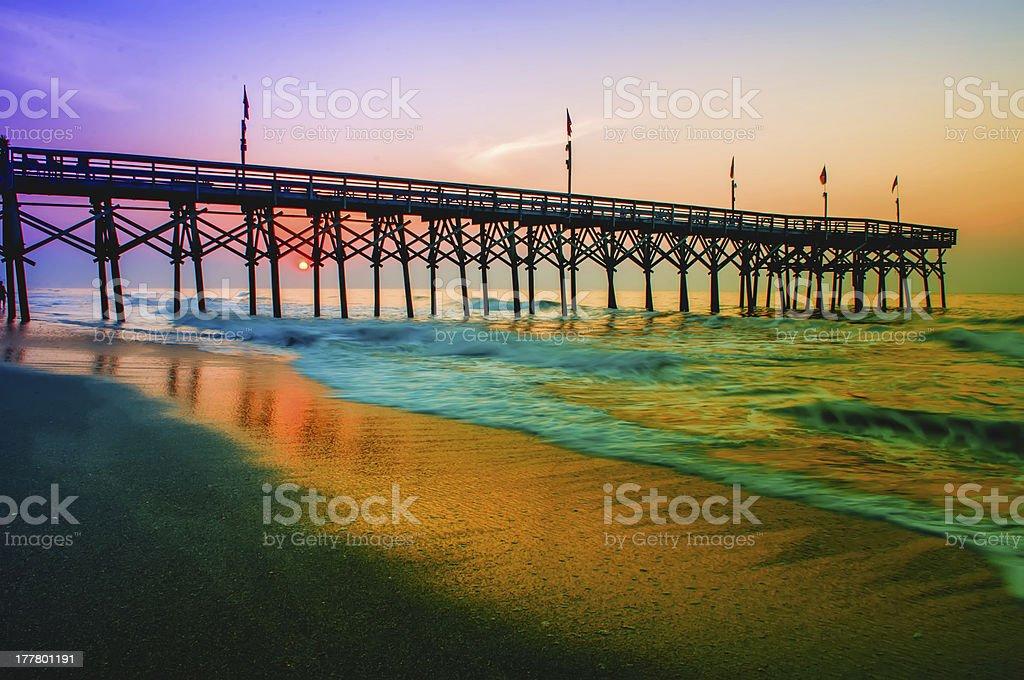 myrtle beach south carolina stock photo