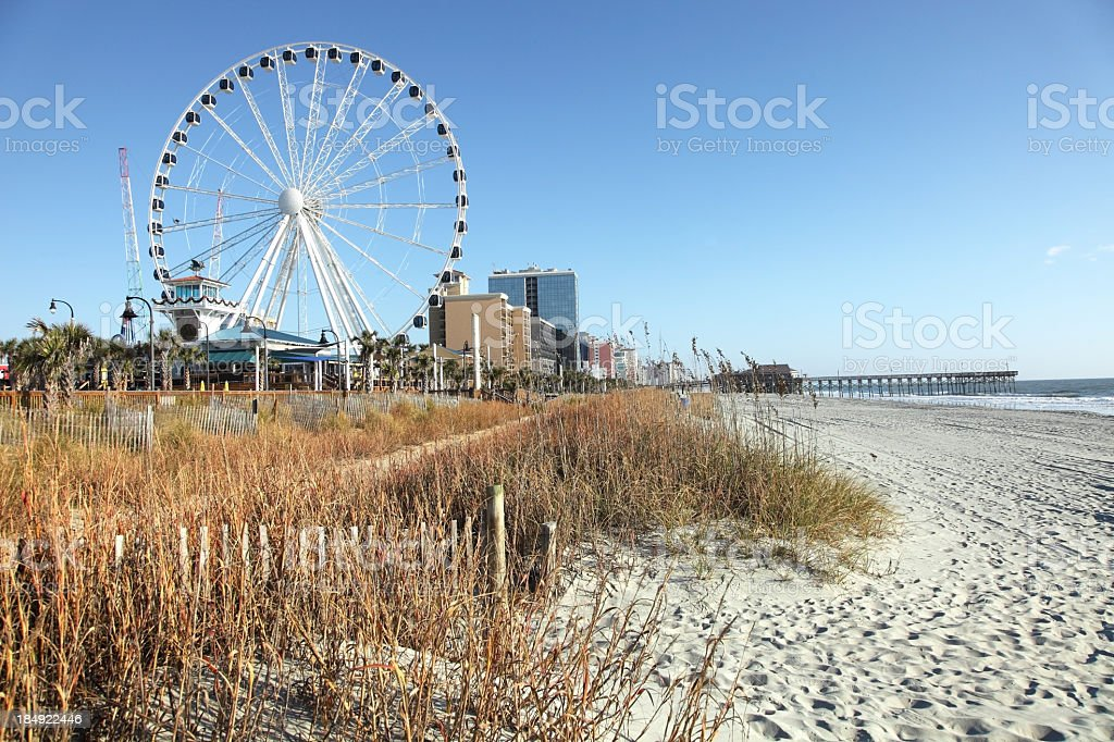 Myrtle Beach, South Carolina royalty-free stock photo