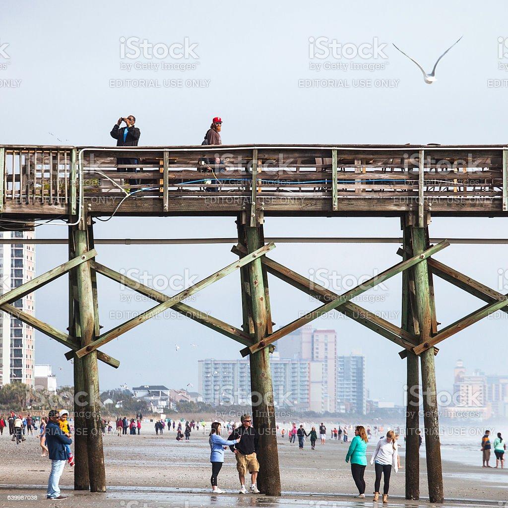 Myrtle Beach, South Carolina. stock photo