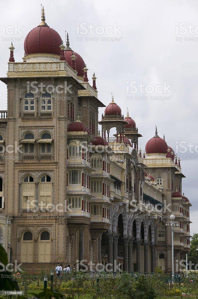 Mysore Palace, Karnataka, India royalty-free stock photo