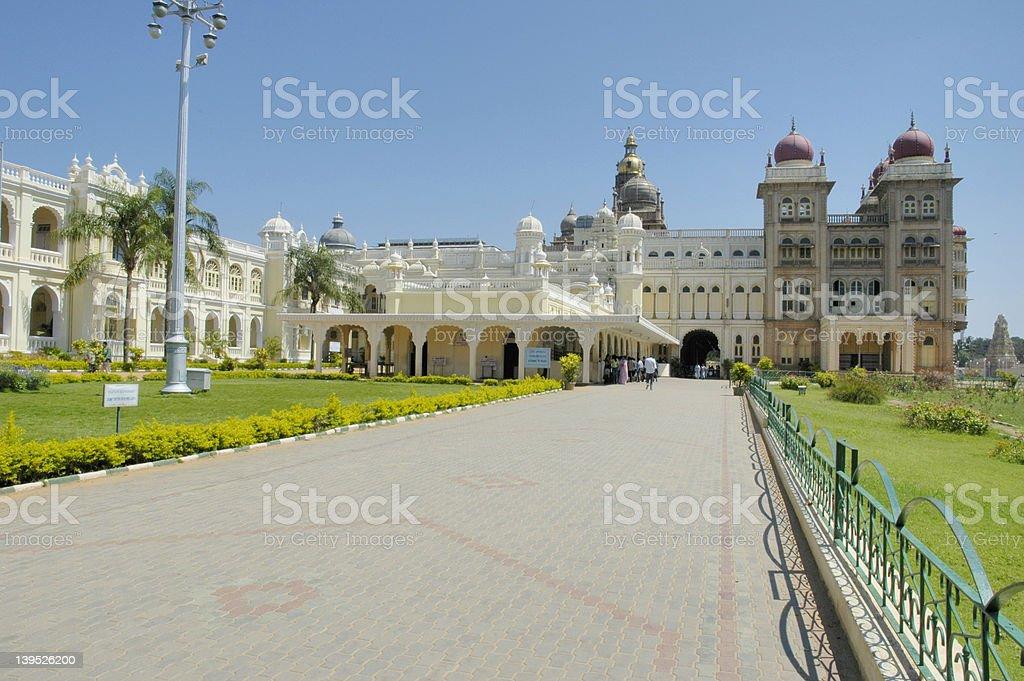 Mysore Palace royalty-free stock photo