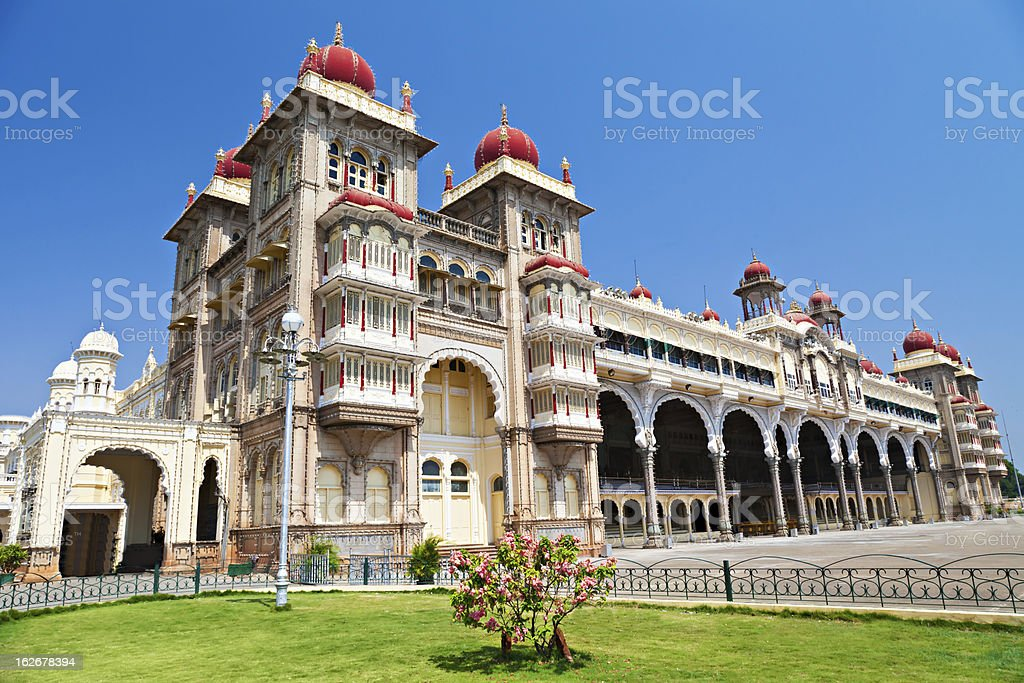 Mysore palace stock photo