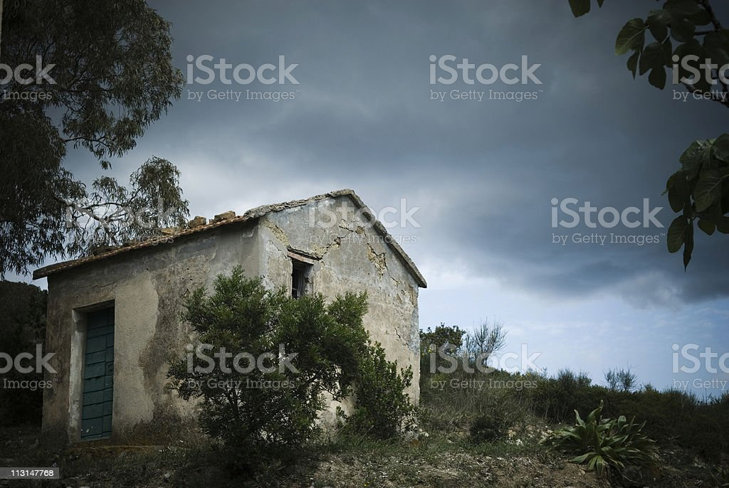Mysterious Cottage royalty-free stock photo