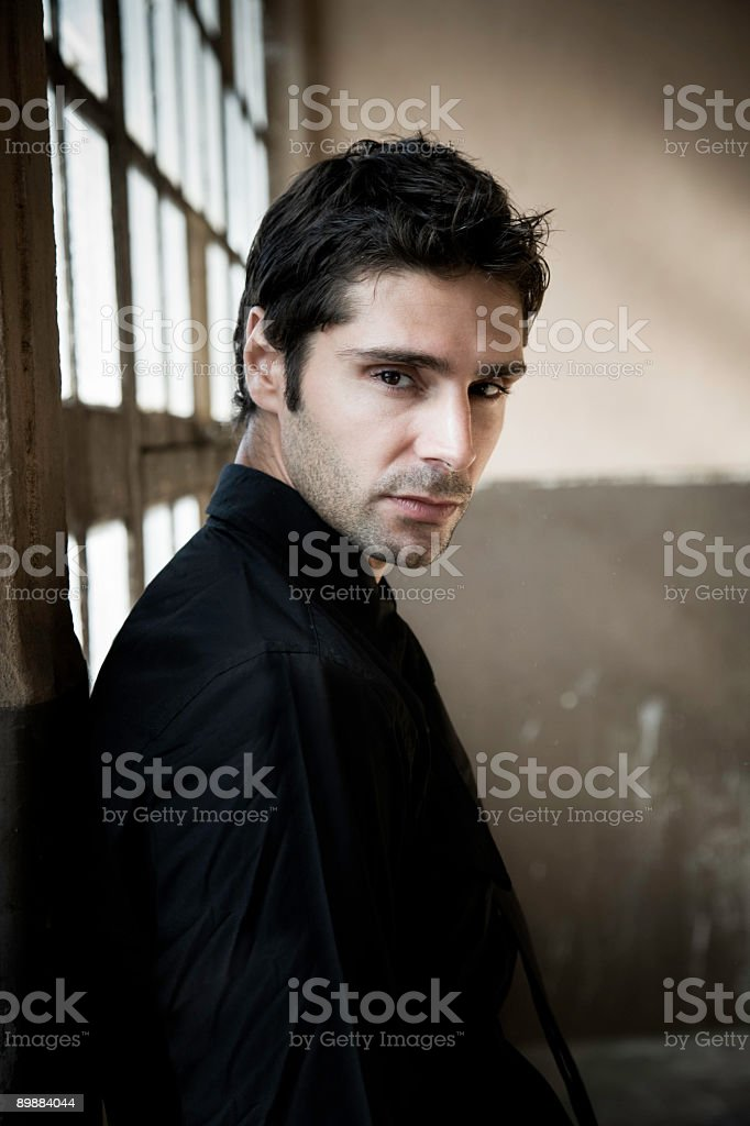 Mysterious Male royalty-free stock photo