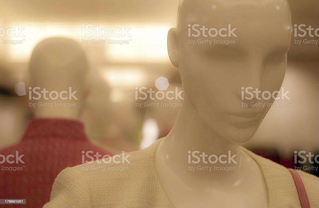 Mysterious Mannequin royalty-free stock photo