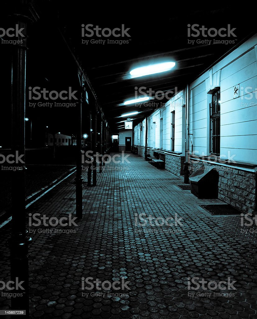 Mysterious place stock photo
