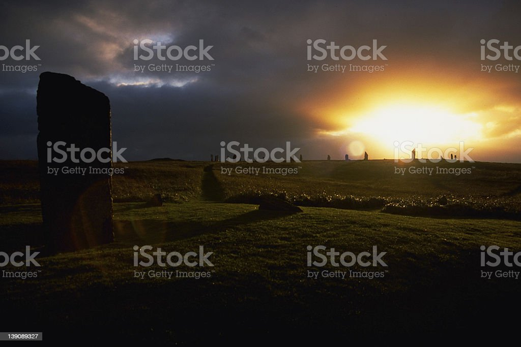 Mysterious Places 2 stock photo