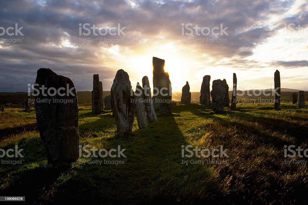 Mysterious places stock photo