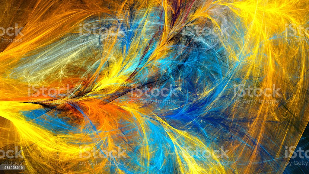 Mysterious psychedelic wallpaper. stock photo
