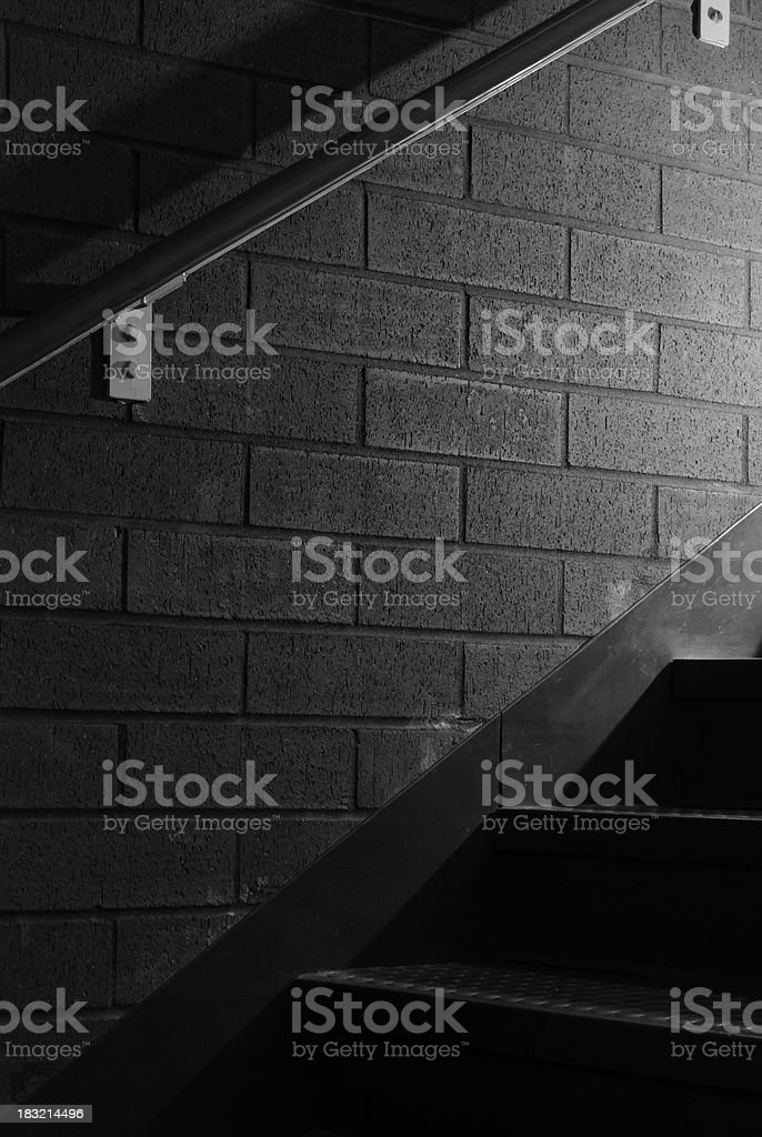 Mysterious Staircase royalty-free stock photo