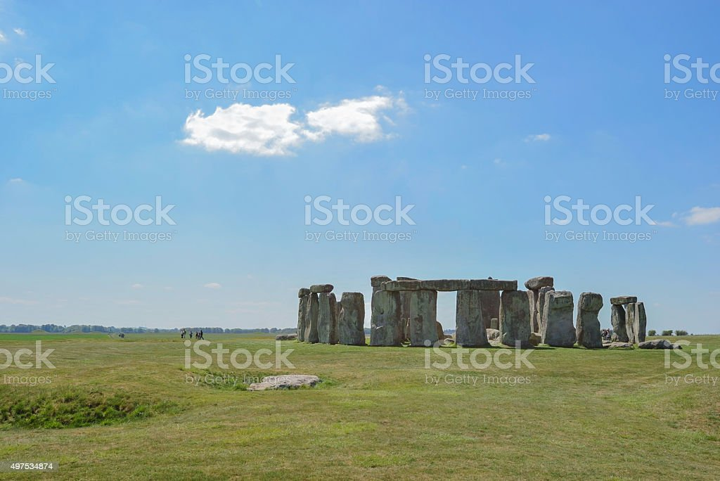 mysterious Stonehenge in UK , England. stock photo