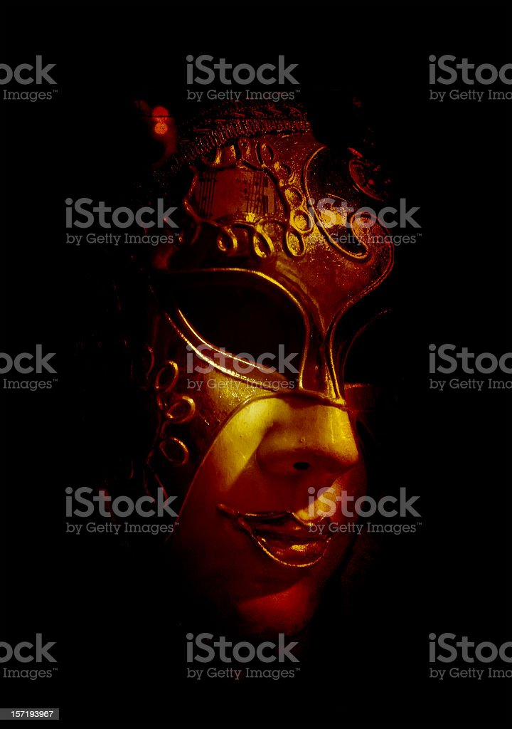 mysterious venice royalty-free stock photo