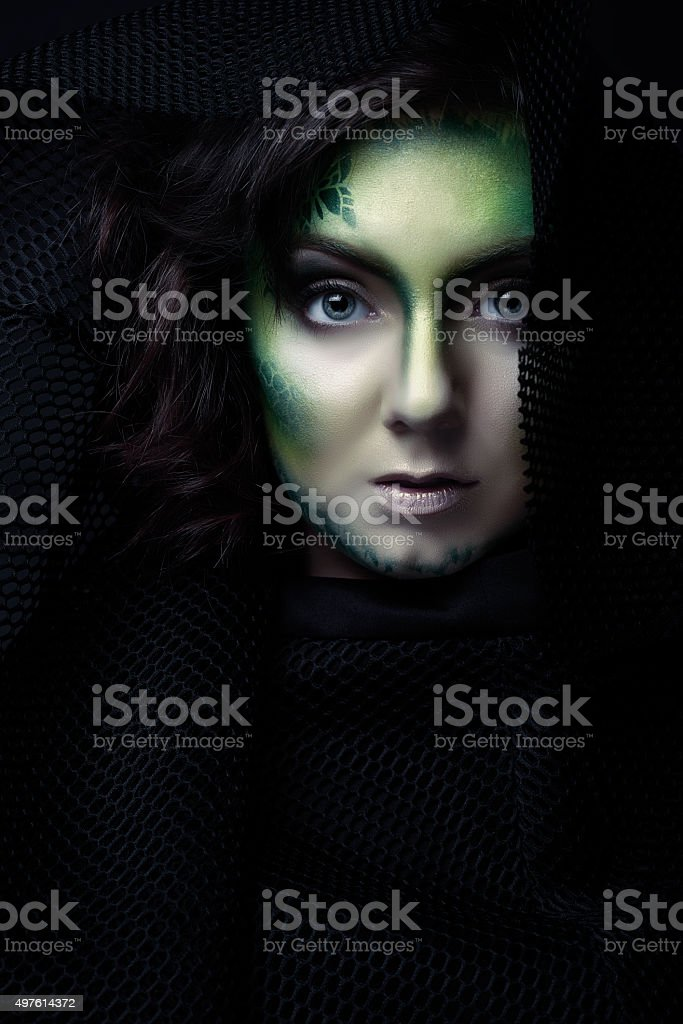 mystery and surreal stock photo