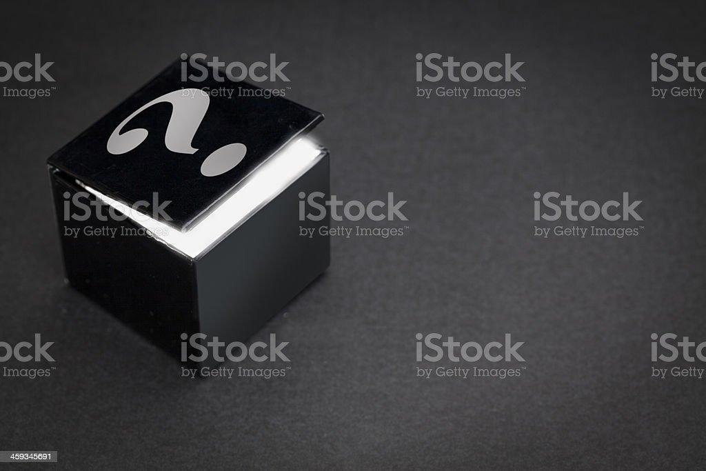 Mystery Box royalty-free stock photo