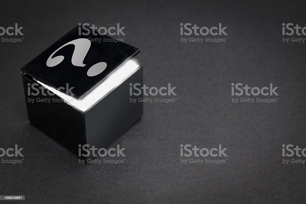Mystery Box stock photo