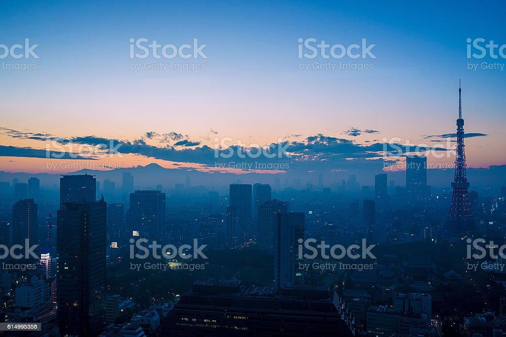 Mystery City stock photo