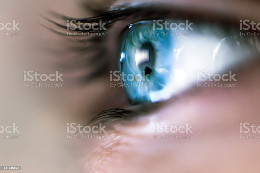 Mystery Eye stock photo