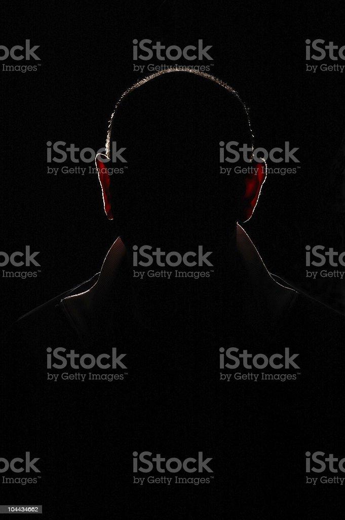 Mystery Man royalty-free stock photo