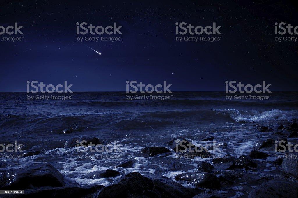 Mystery night. stock photo