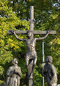 Mystery of the Rosary 'crucifixion of Jesus' in Jasna Gora