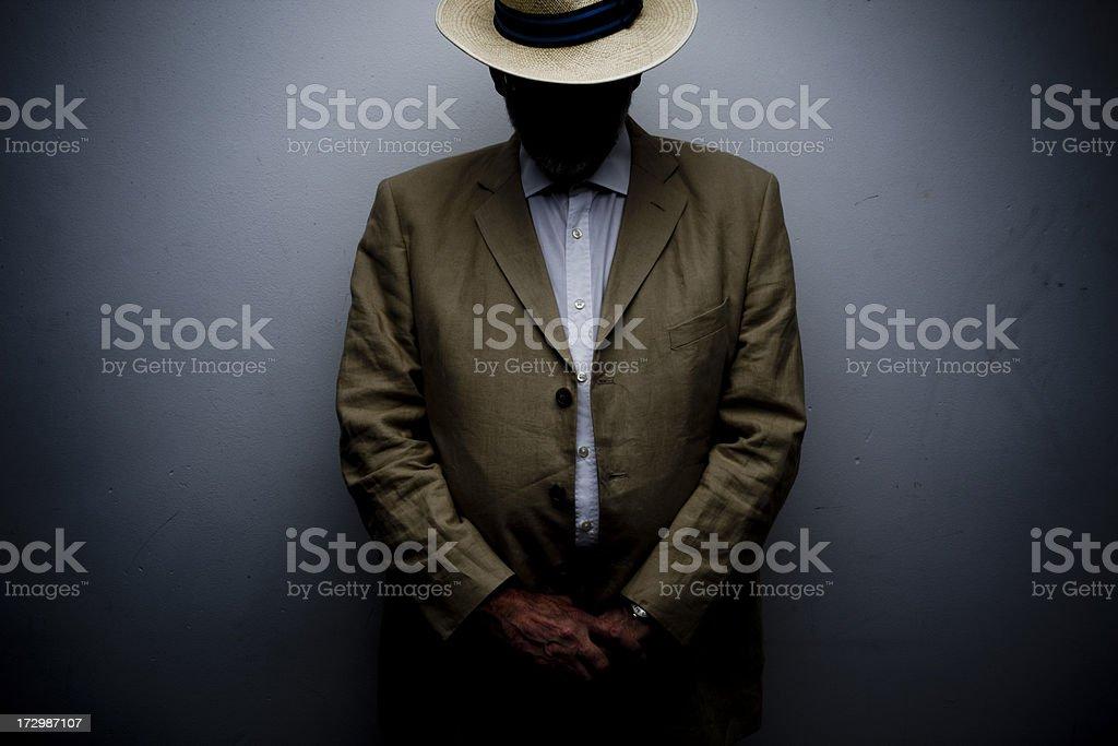 Mystery Panama royalty-free stock photo