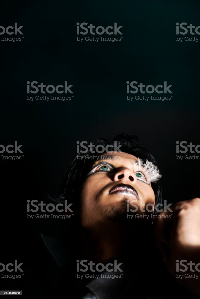 Mystery royalty-free stock photo