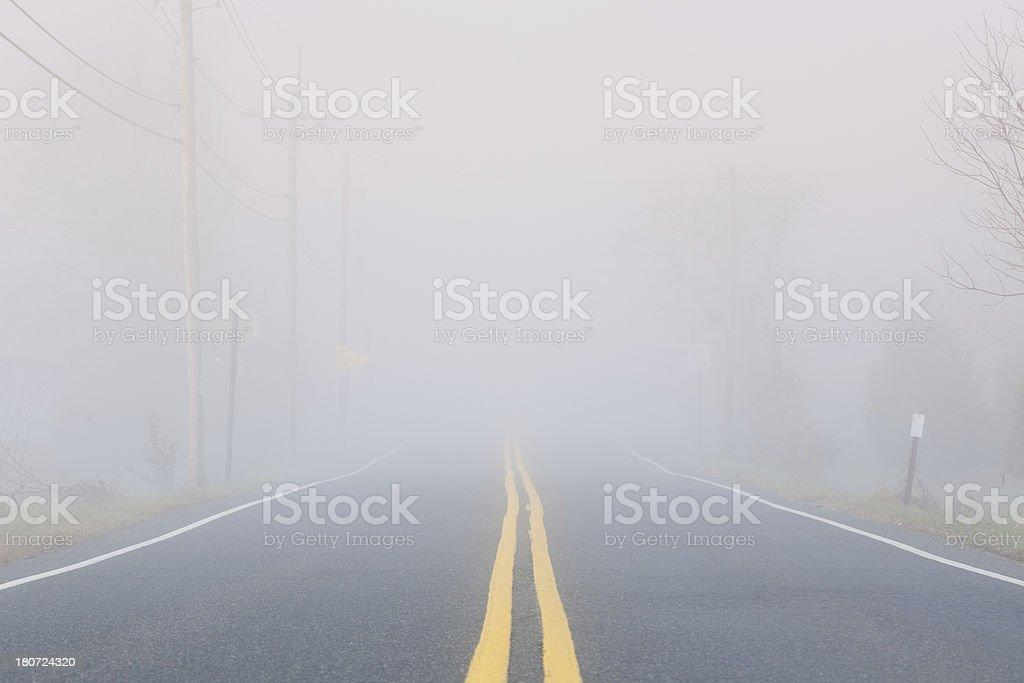 Mystery Road stock photo