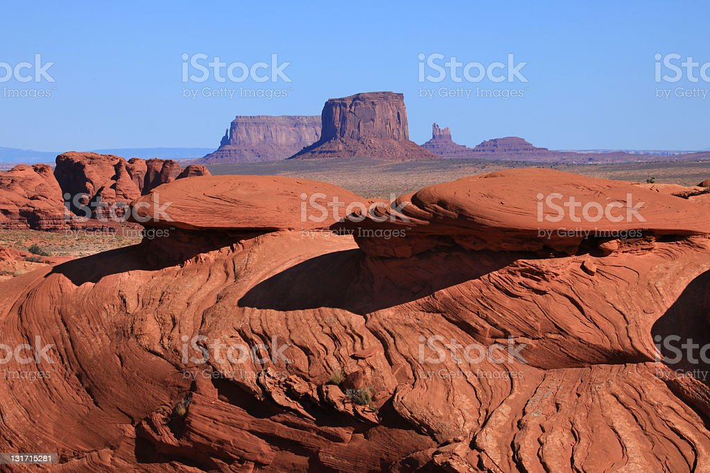 Mystery Valley, Utah, USA. stock photo