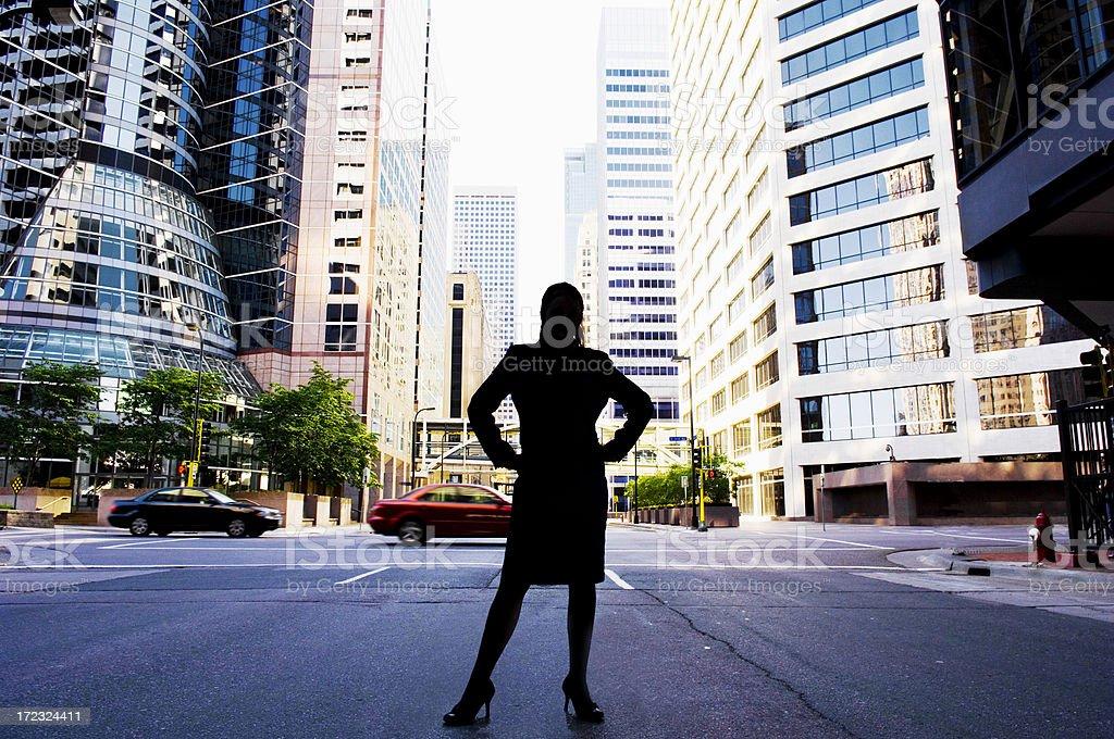 Mystery woman royalty-free stock photo