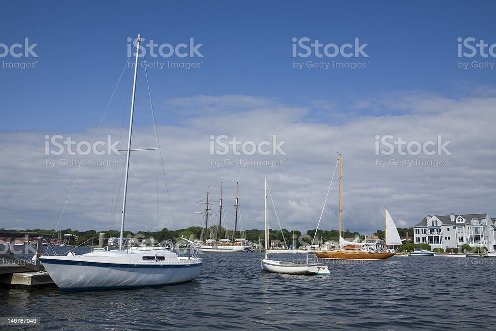 Mystic, Connecticut royalty-free stock photo