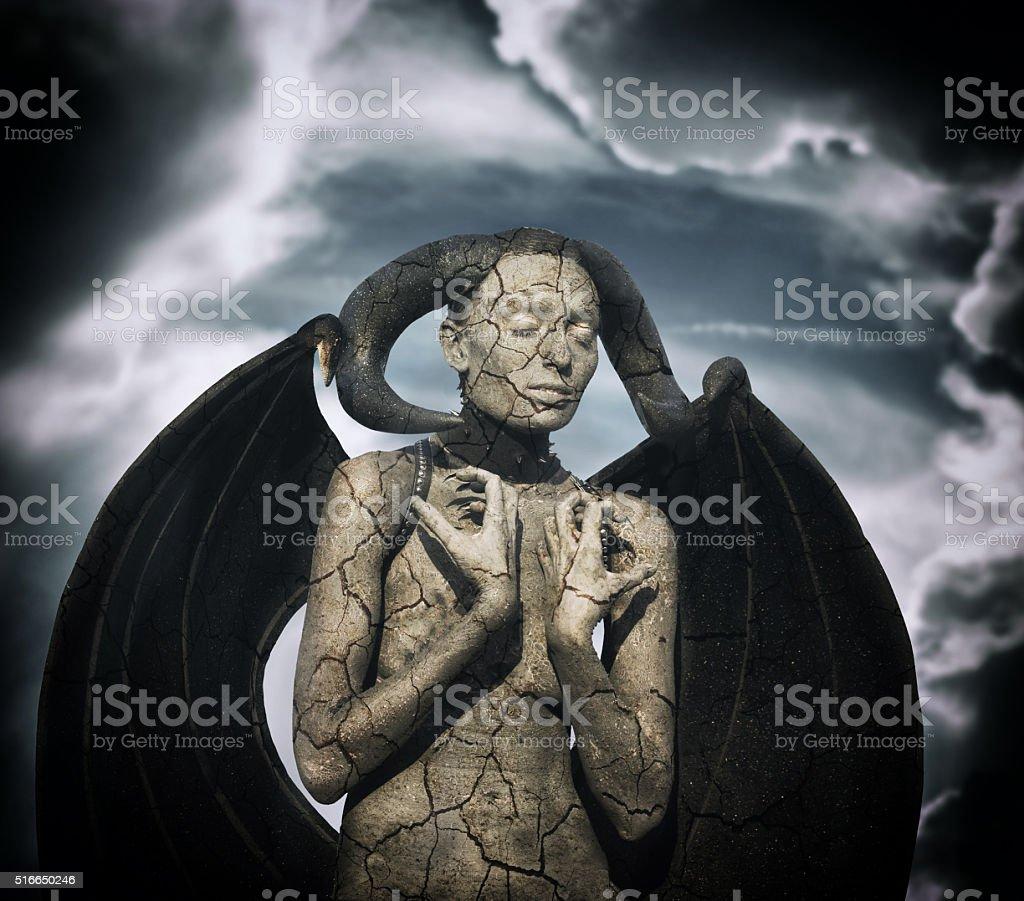 Mystic creature stock photo