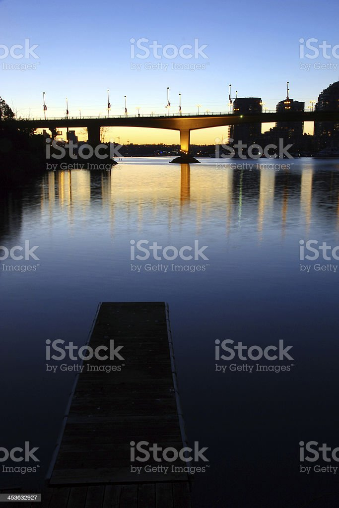 Mystic Dock royalty-free stock photo