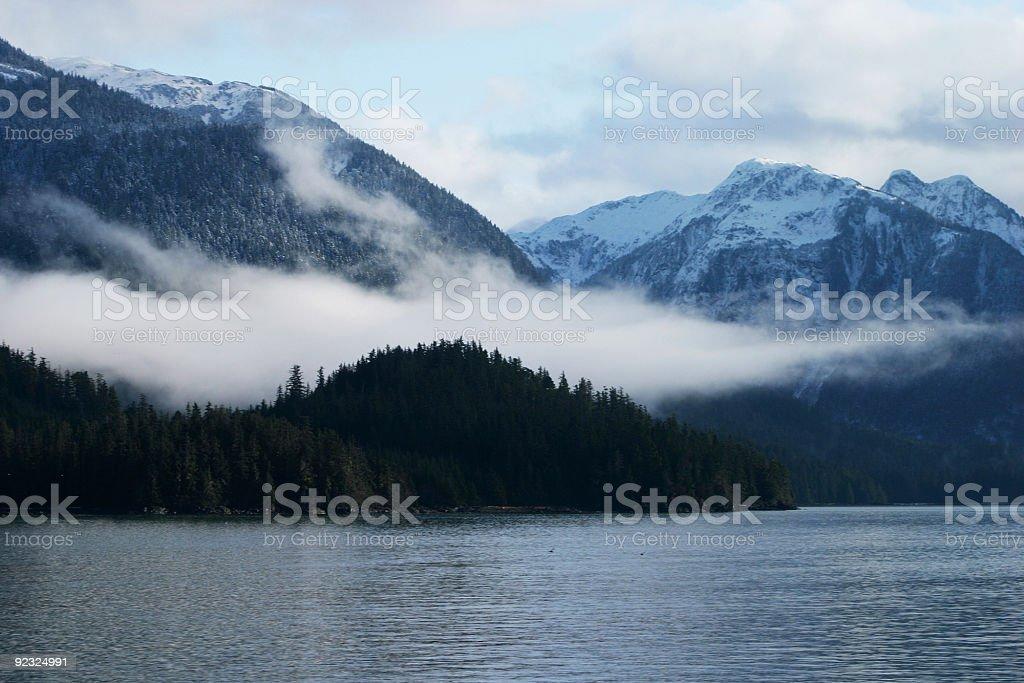 Mystic Landscape stock photo
