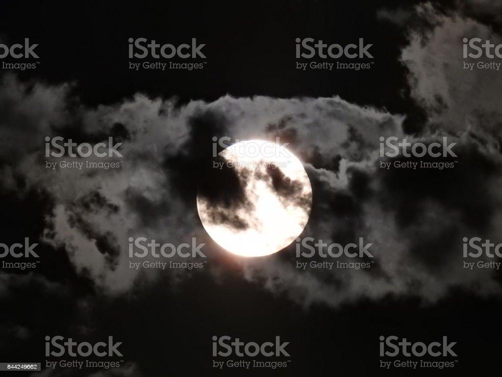 Mystic Moon stock photo